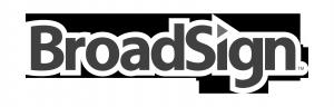 BroadSign Logo B&W